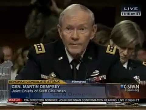 General on Benghazi: 'We Never Received a Request for Support from the State Department'