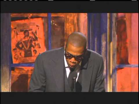 Jay Z inducts Grandmaster Flash and the Furious Five Rock Hall Inductions 2007