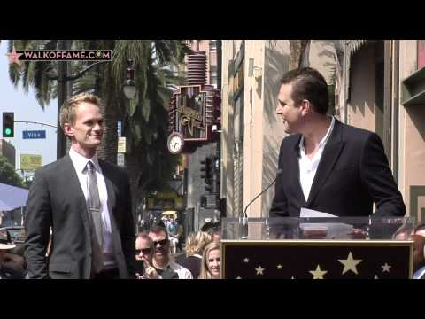 NEIL PATRICK HARRIS IS HONORED WITH HOLLYWOOD WALK OF FAME STAR