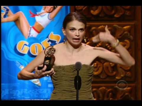 Sutton Foster's acceptance speech at the 2011 Tony Awards