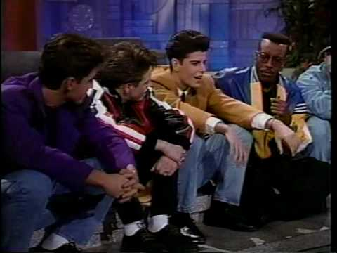 New Kids On The Block on Arsenio ..Part 3!