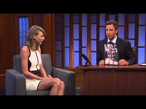 Taylor Swift on Her Mysteriously Perfect Post Gym Look - Late Night with Seth Meyers Full HD