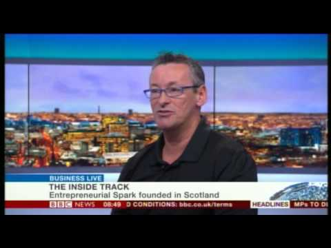 Entrepreneurial Spark CEO Jim Duffy chats Entrepreneuring® and vision with BBC News