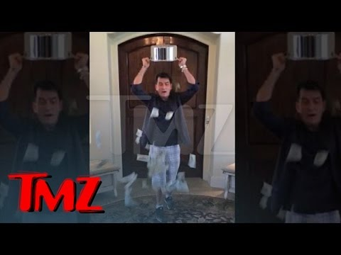 Charlie Sheen – Ice Bucket Challenge with a BIG Twist