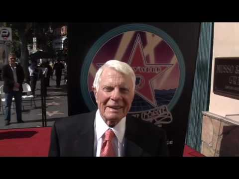 Peter Graves Hollywood Walk of Fame Star Ceremony