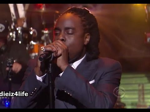 Wale - LoveHate Thing (Live @ Late Show with David Letterman) HD