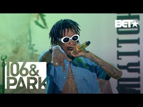 "106 and Park Presents : Wiz Khalifa performing ""We Dem Boyz"""