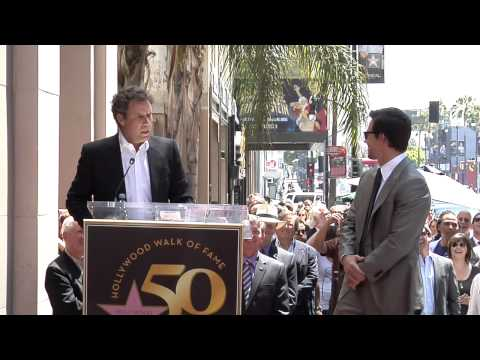 Mark Wahlberg Star on the Hollywood Walk of Fame Ceremony