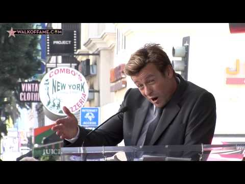 SIMON BAKER HONORED WITH HOLLYWOOD WALK OF FAME STAR