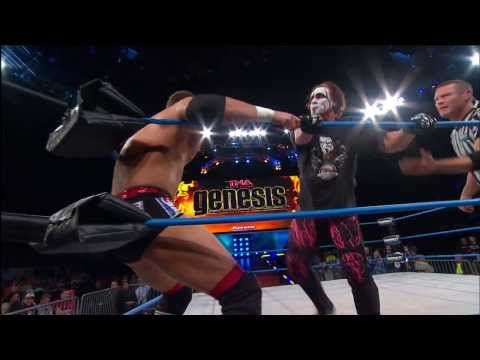 World Title vs. Contract - Magnus vs. Sting at GENESIS (January 23, 2014)