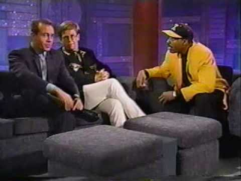 Elton John & Bernie Taupin On The Arsenio Hall Show (1992)
