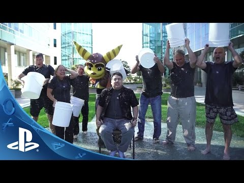 PlayStation Takes the Ice Bucket Challenge