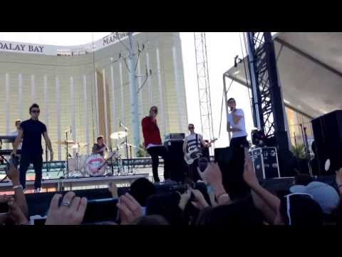 The Wanted at iHeartRadio Music Village in Vegas 09.21.13 (Full Performance)