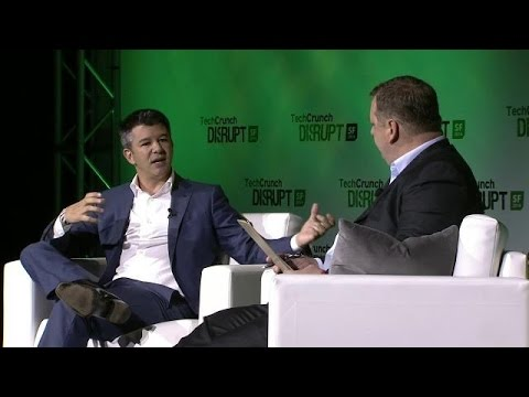 Michael Arrington in Conversation with Uber's Travis Kalanick | Disrupt SF 2014