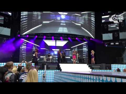 The Saturdays - All Fired Up (Capital FM Summertime Ball - Sunday 9th June 2013)