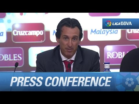 "Emery: ""Este partido requería paciencia"" - HD"