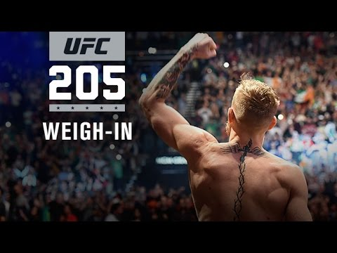 UFC 205: UFC 205: Official Weigh-in