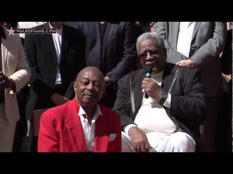 FUNK BROTHERS HONORED WITH A STAR ON THE HOLLYWOOD WALK OF FAME