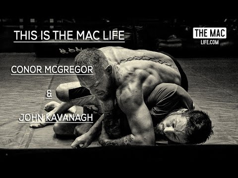 Conor McGregor & John Kavanagh rolling #TheMacLife