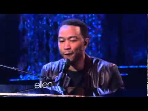 John Legend Performs 'All of Me' {The Ellen DeGeneres Show}