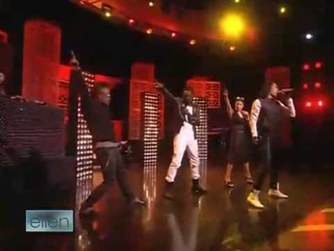 Black Eyed Peas - Boom Boom Pow Live - The Ellen DeGeneres Show 2009 - May