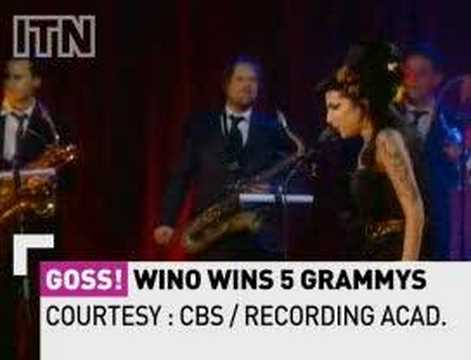 Amy Winehouse gets Five Grammys