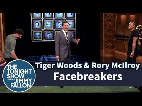 Facebreakers with Tiger Woods & Rory McIlroy