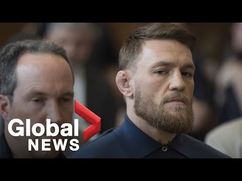 Conor McGregor's FULL court appearance