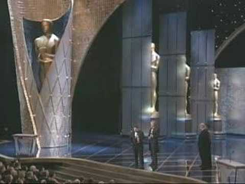 """Titanic"" winning Best Picture Oscar®"