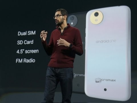 Google Shows Off 'L', Android One