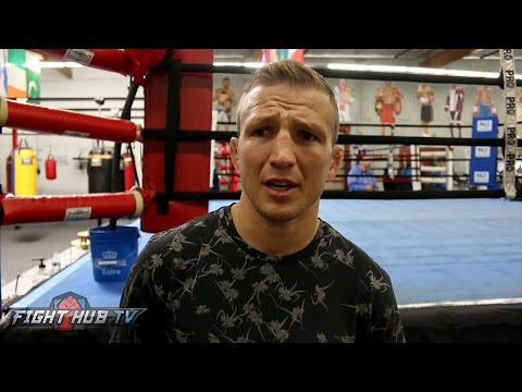 "TJ Dillashaw ""McGregor has big holes in his game! Garbrandt will be a nobody after I beat him"""
