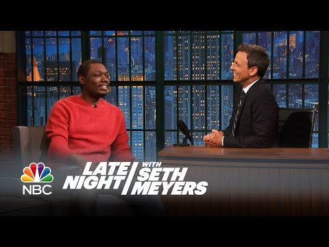 Michael Che Interview - Late Night with Seth Meyers
