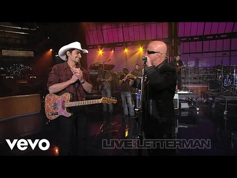 Brad Paisley - Catch All The Fish (Live on Letterman)