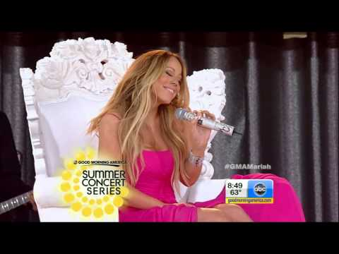 [HD] Mariah Carey - #Beautiful feat. Miguel - Live on Good Morning America