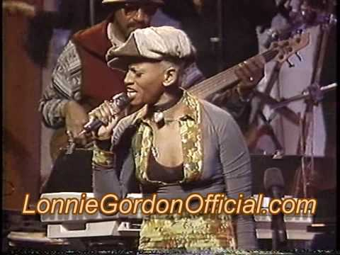 Lonnie Gordon - Arsenio Hall Show - James Brown