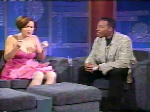 Jennifer Tilly on Arsenio Hall plugging The Getaway (1994)
