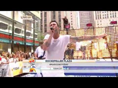 Maroon 5 : Payphone - The Today Show 06/29/2012