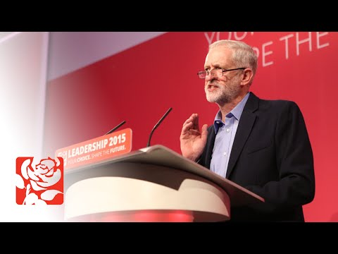 Jeremy Corbyn's first speech as Leader of the Labour Party