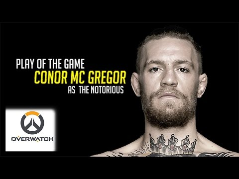 CONOR MCGREGOR PLAYS OVERWATCH