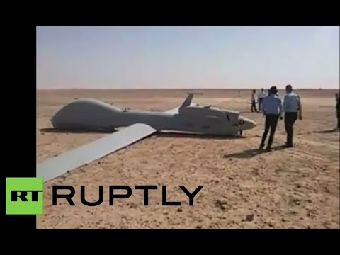 Drone Down! US predator aircraft found crash landed in Iraq