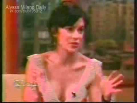 Alyssa Milano on Tony Danza Show