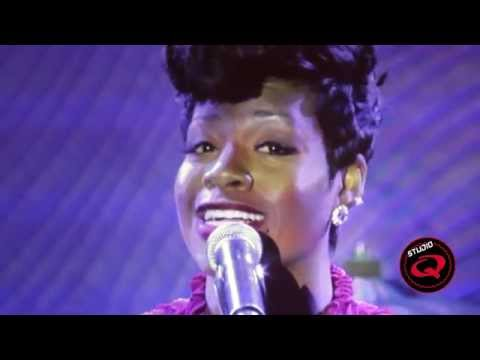 Fantasia Sings 'Stormy Weather' at Clive Davis 2014 Pre-Grammy Party - Studio Q TV