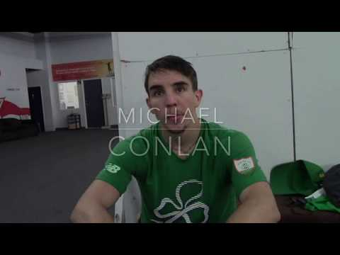 Michael Conlan: Conor McGregor can punch; he is a big puncher!!