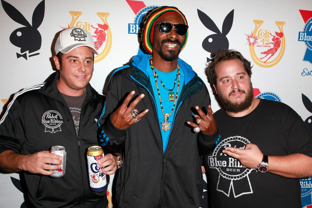 Metropoulos brothers with Snoop Lion