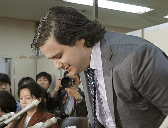 Karpeles Bow Apology Japanese TV