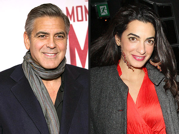 Clooney engaged to be married to Amal Alamuddin.