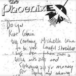 Kurt Cobain-Courtney Love-Wedding Vows-Note