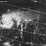 Satelite Image of Great Bhola Cyclone