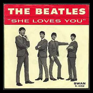 The Beatles - She Loves You (single)