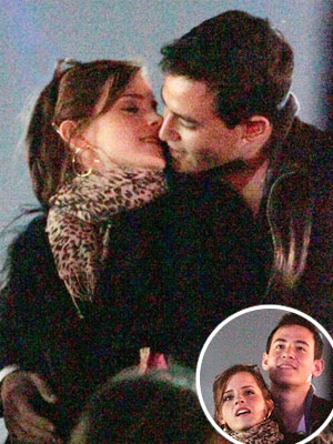 Watson Is Seen Kissing Will Adamowicz A Fellow Oxford Student At The Coachella Valley Music And Arts Festival In California Visit To Was